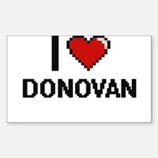 I Love Donovan Decal