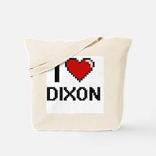 I Love Dixon Tote Bag