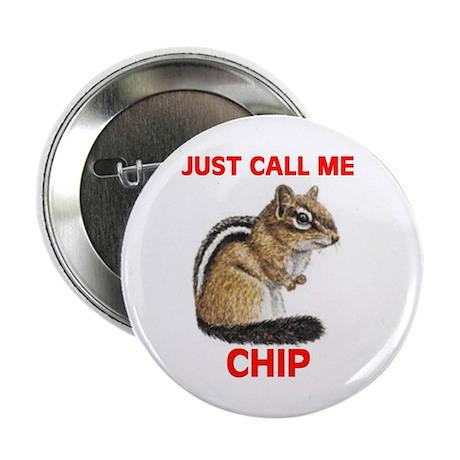 """CHIPMUNK 2.25"""" Button (10 pack)"""