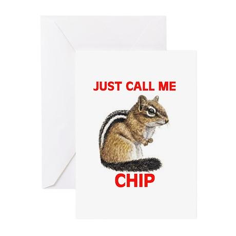 CHIPMUNK Greeting Cards (Pk of 10)