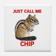 CHIPMUNK Tile Coaster