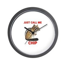 CHIPMUNK Wall Clock