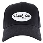 Thank You for not farting Black Cap
