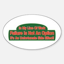 Failure Decal