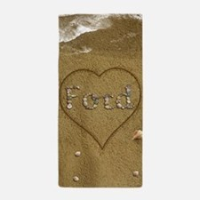 Ford Beach Love Beach Towel