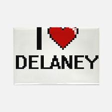 I Love Delaney Magnets