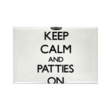 Keep Calm and Patties ON Magnets