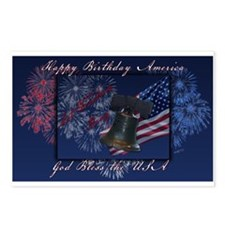 Independence Day Postcards (Package of 8)