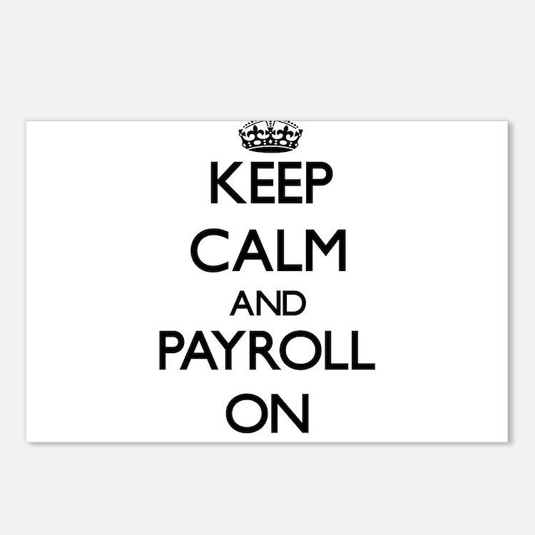 Payroll Post Card Design Template