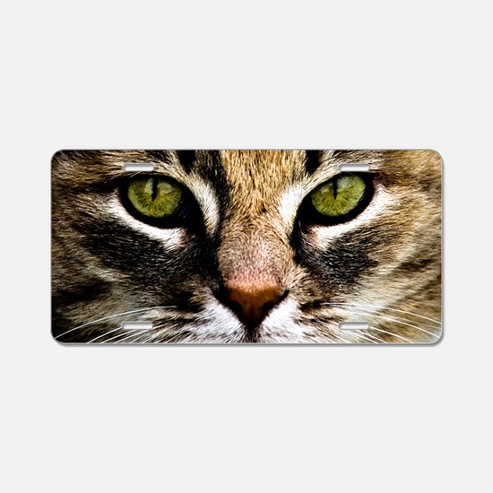 Tiger Lilly Aluminum License Plate