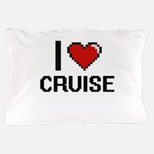 I Love Cruise Pillow Case