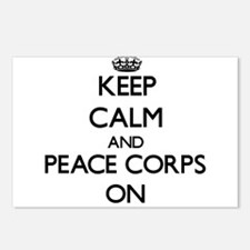 Keep Calm and Peace Corps Postcards (Package of 8)