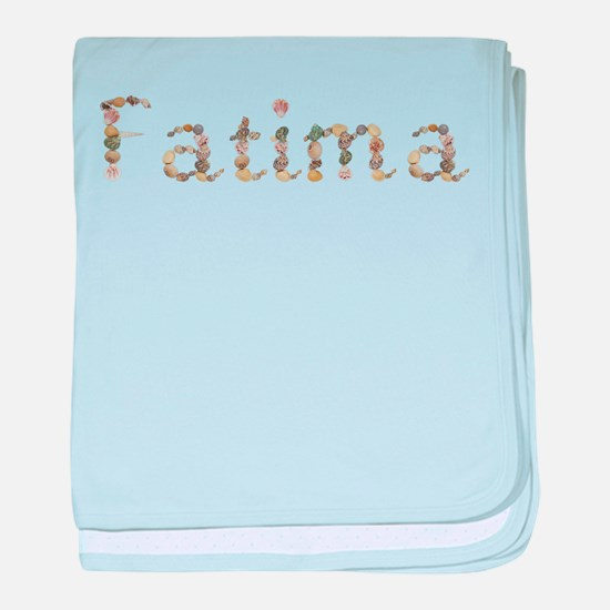 Fatima Seashells baby blanket