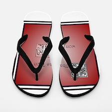 Funny Wow Flip Flops