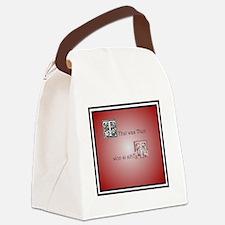 Cute Wow Canvas Lunch Bag