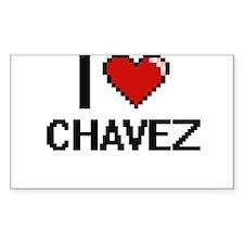 I Love Chavez Decal