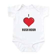 I love Rush Hour Infant Creeper