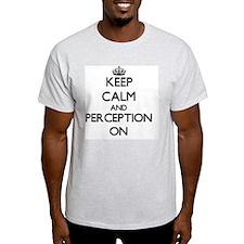 Keep Calm and Perceptio Women's Cap Sleeve T-Shirt