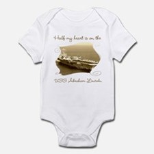 Cute Husband deployed Infant Bodysuit
