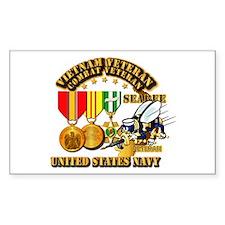 Navy - Seabee - Vietnam Vet - Decal