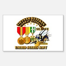 Navy - Seabee - Vietnam Decal
