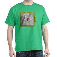 Grinch Heart 2 T-Shirt