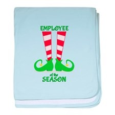 Employee Of Season baby blanket