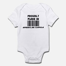 proudly made In American Samo Infant Bodysuit