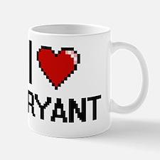 I Love Bryant Mug