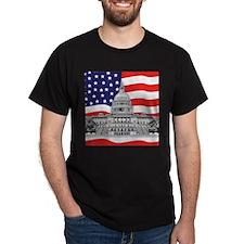 US Capitol Building American T-Shirt