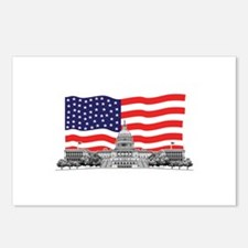 US Capitol Building American Postcards (Package of
