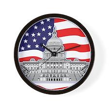 US Capitol Building American Wall Clock