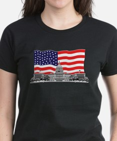 US Capitol Building American Tee