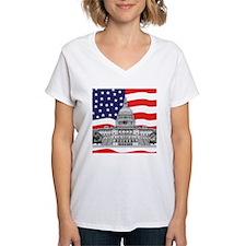US Capitol Building American Shirt