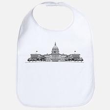 US Capitol Building Bib