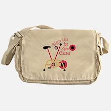 Spin Classes Messenger Bag