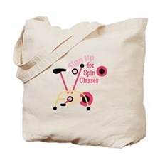 Spin Classes Tote Bag