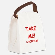 take me Canvas Lunch Bag