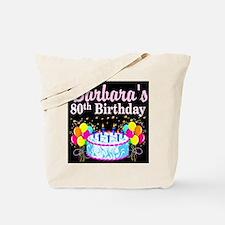 FANTASTIC 80TH Tote Bag