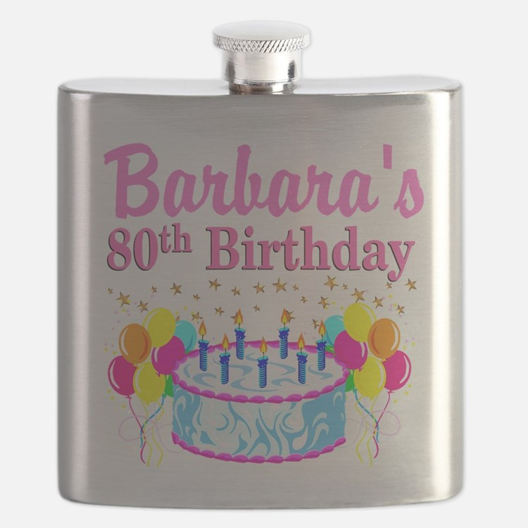 80 AND FABULOUS Flask