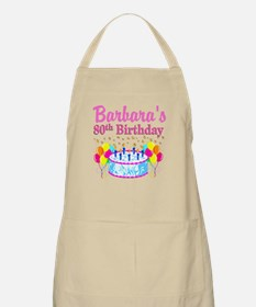 80 AND FABULOUS Apron