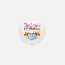 80 AND FABULOUS Mini Button (10 pack)