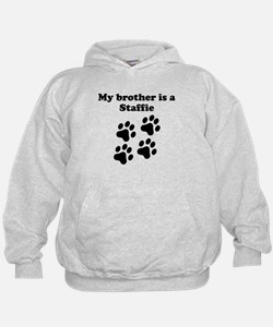 My Brother Is A Staffie Hoodie