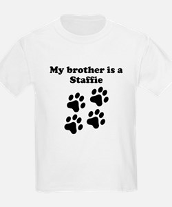 My Brother Is A Staffie T-Shirt