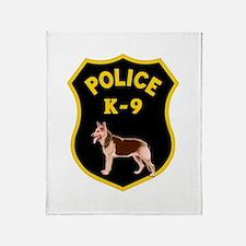 K9 Police Officers Throw Blanket