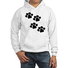 Animal Paw Prints Hoodie