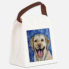 Funny Labrador retriever Canvas Lunch Bag