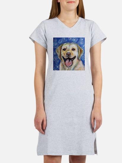 Funny Labrador retriever Women's Nightshirt