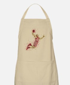 Garnet Red Basketball Uniform Dunk Apron