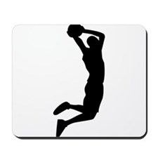 Slam Dunk Black Mousepad